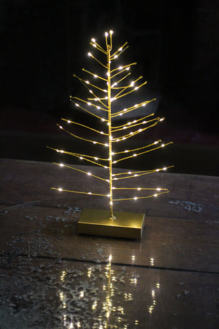 LED Christmas Tree (Gold)