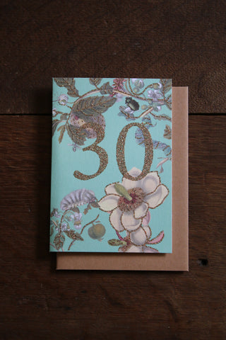 Vanilla Fly Glitter 30 Card