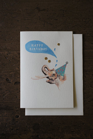 Elena Deshmukh Card, Happy Birthday Elephant