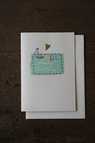 Elena Deshmukh Card, Happy Birthday Envelope