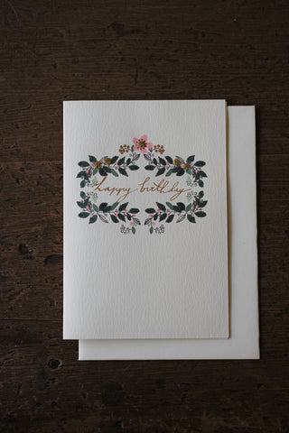 Elena Deshmukh Card, Happy Birthday Vignette