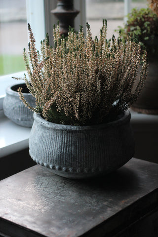 Washed Grey Planter
