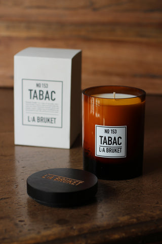 L:A BRUKET Tabac Scented Candle