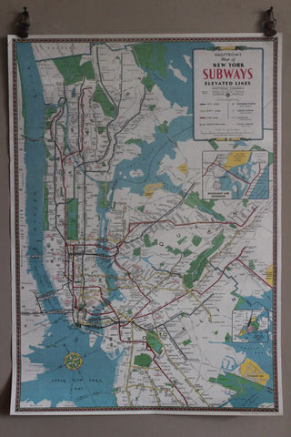 CAVALLINI NEW YORK SUBWAY MAP