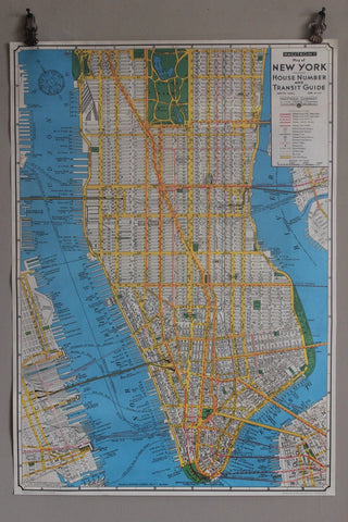CAVALLINI NEW YORK MAP