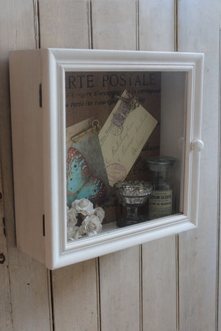 PAINTED CURIOSITY CABINET