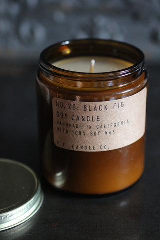 P. F. Candles - NO. 28: BLACK FIG