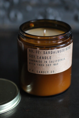 P. F. Candles - NO. 32: SANDALWOOD ROSE