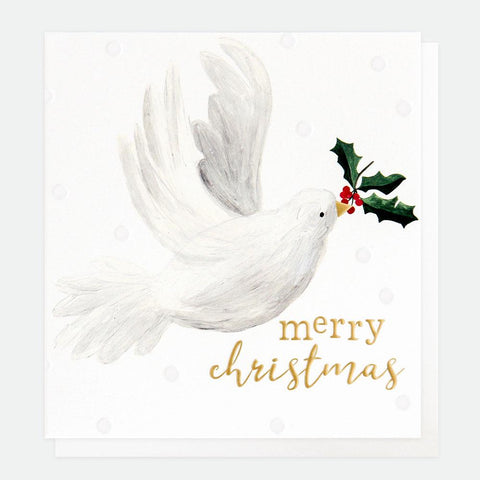 Painted Dove Charity Christmas Card Pack of 8