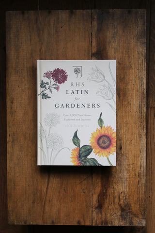 RHS: Latin for Gardeners