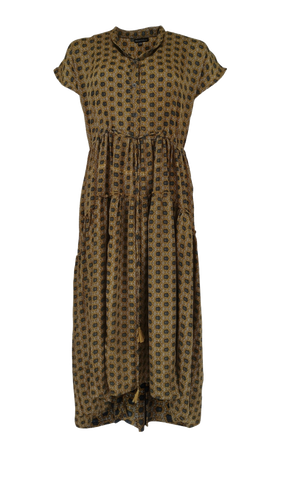 LUNA MAE Dress Wild Gold