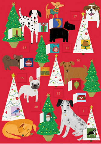 Dog Palais Advent Calendar Card