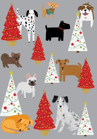 Dog Palais Christmas Cards Pack 5