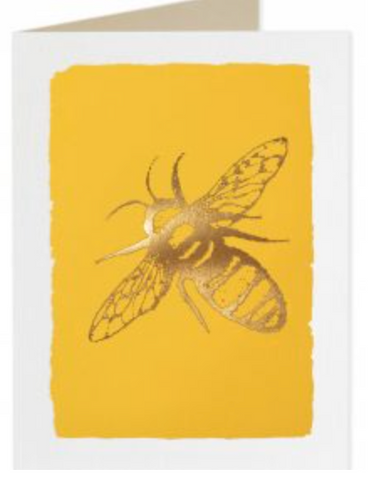 Archivist Gold Bee Card