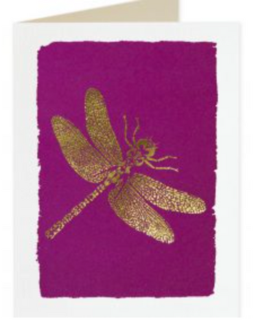 Archivist Dragonfly Card