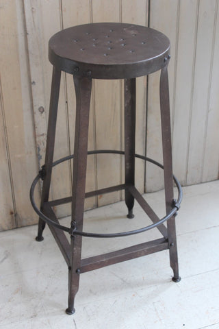 Steel Industrial Bar Stool