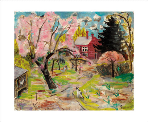 Art Angels Card - The Cherry Tree