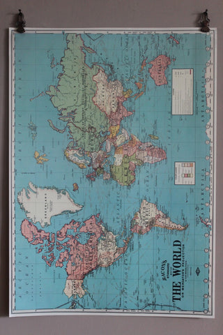 CAVALLINI WORLD MAP