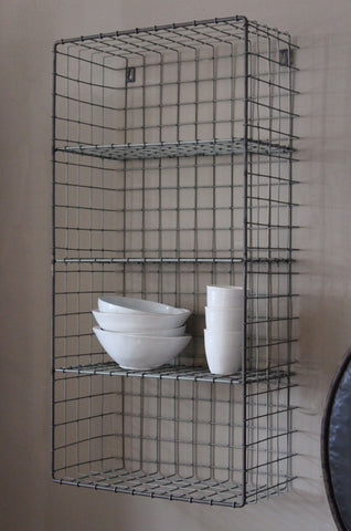 WIRE 4 TIER STORAGE UNIT