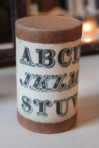 LARGE ABC CANISTER
