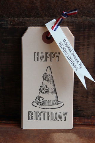 GIFT TAG SET - HAPPY BIRTHDAY