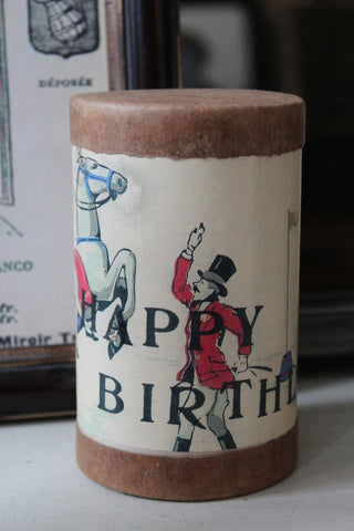 LARGE HAPPY BIRTHDAY CANISTER