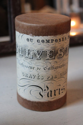 LARGE PARIS CANISTER