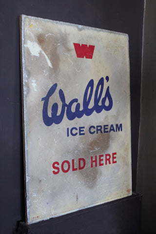 ORIGINAL WALL'S ICE CREAM SIGN