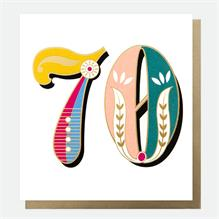 Caroline Gardner - 70th Card