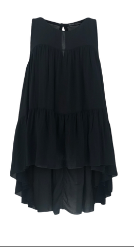 KAMMA tunic top Black