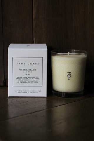 True Grace Chesil Beach Candle - No 91
