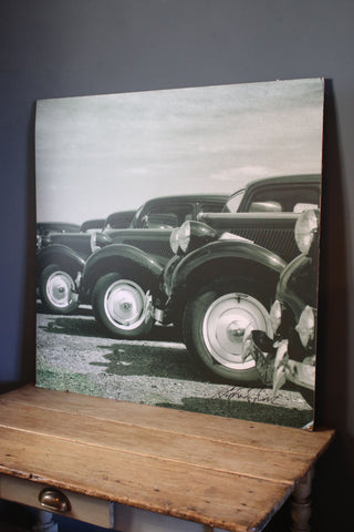 Vintage Citroens - Photo Board