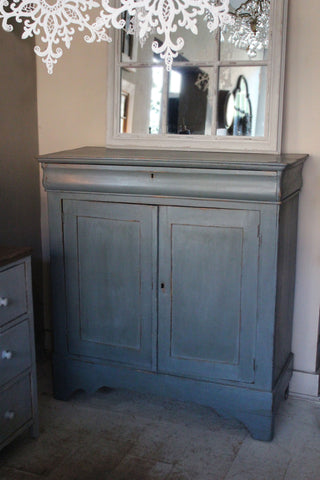 Blue French Cupboard