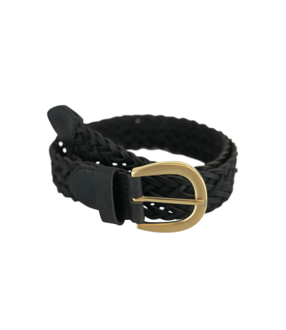 COACH braided belt - Black