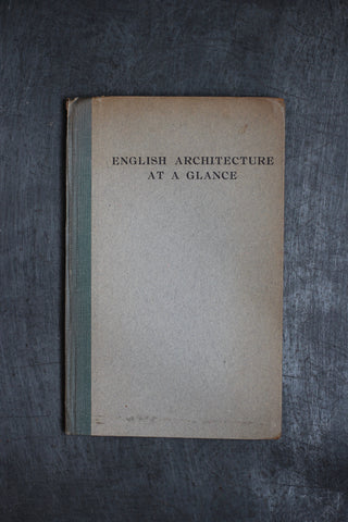 English Architecture at a Glance (Vintage Book)