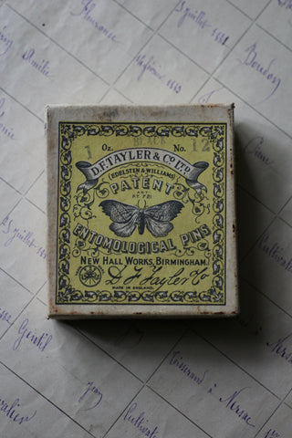 Vintage Entomological Pins