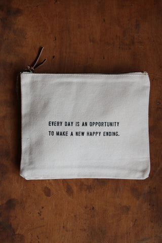 Canvas Bag- Every Day Is An Opportunity