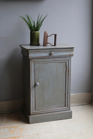 Original Painted French Nightstand