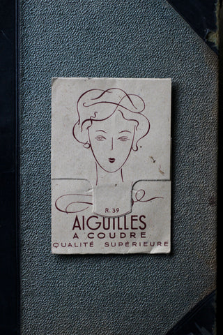 Vintage French Sewing Needles
