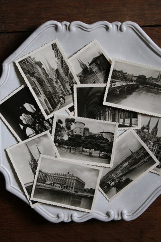 Vintage Set of 10 Mini Postcards (Bayonne, France)