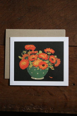 Art Angels Card - Marigolds