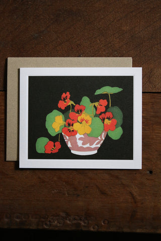 Art Angels Card - Nasturtiums