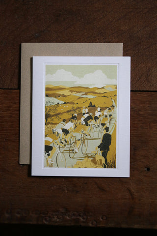 Art Angels Card - Tour de Yorkshire
