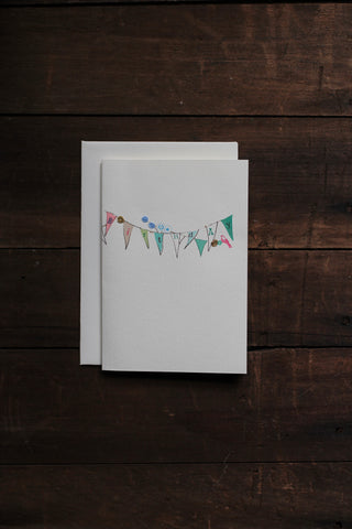 Elena Deshmukh Card, Happy Birthday Bunting