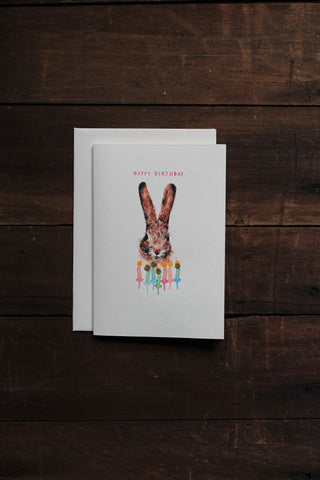 Elena Deshmukh Card, Happy Birthday Rabbit