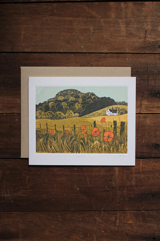 Art Angels Card - Poppies & Downs