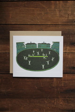 Art Angels Card - Cricket