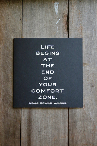 Quotable Card - Comfort Zone