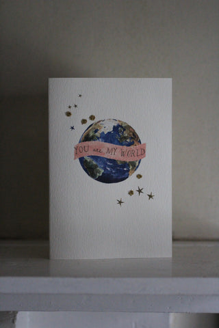 Elena Deshmukh Card, You are My World