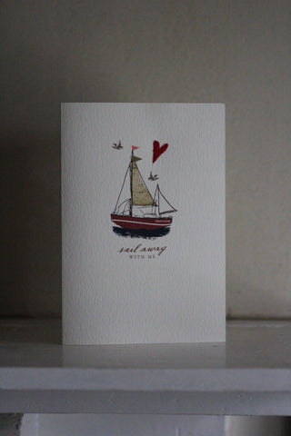 Elena Deshmukh Card, sail away with me